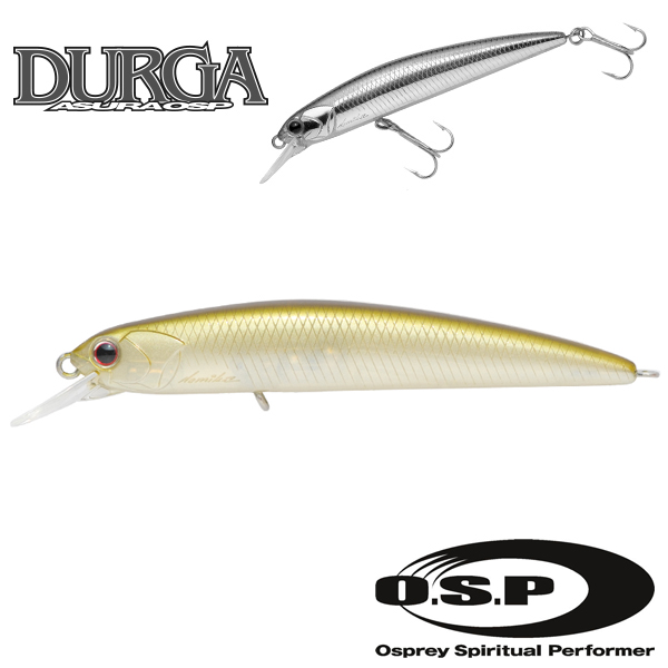 O.S.P Durga 73 SP #G01 Ghost Minnow