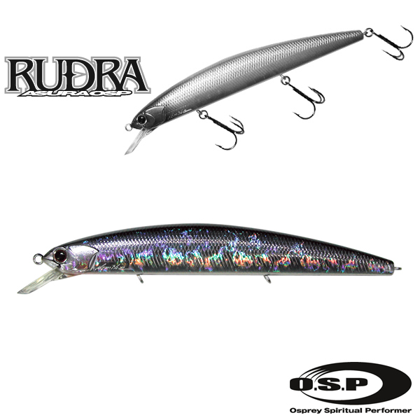 O.S.P. Rudra 130 SP #Crystal Blue Shiner