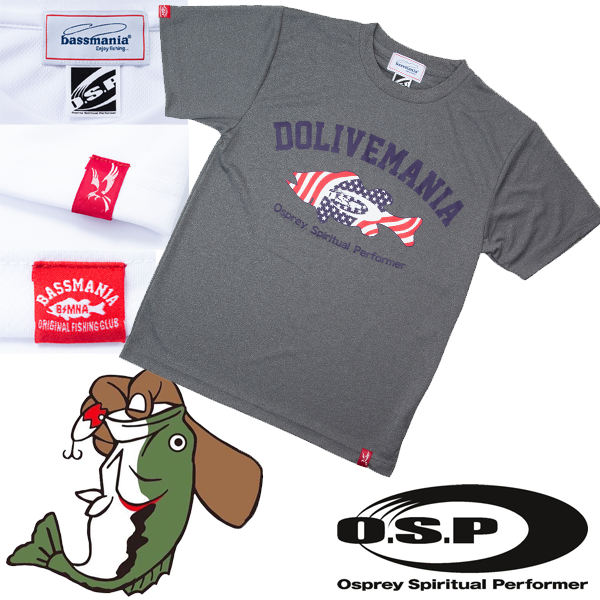 OSP Dolive Mania T-Shirt Grey #XL