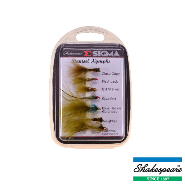 Sigma Fly Selection 4 Damsel Nymphs