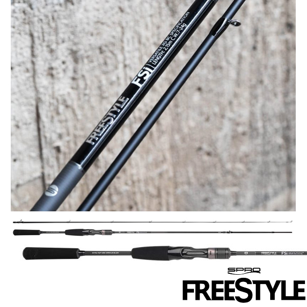 Freestyle FSi Light Jig 2,15m 2-12g Casting