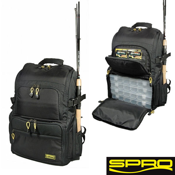 Spro Backpack + 4 Boxes