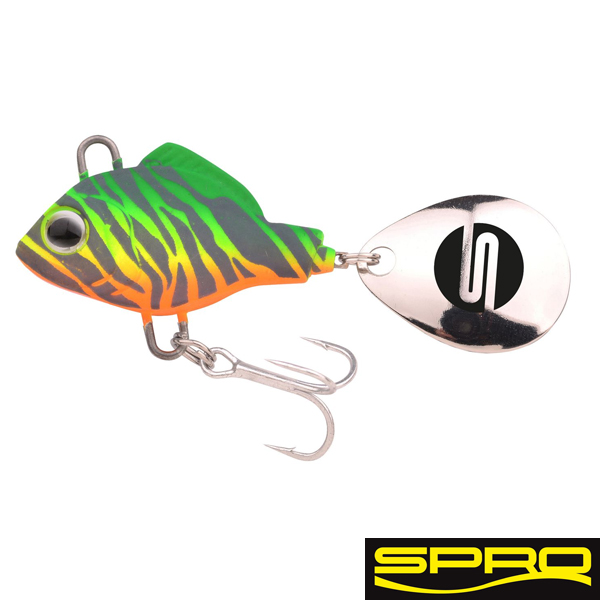 Spro ASP Spinner UV 14gr. #Fire Zebra