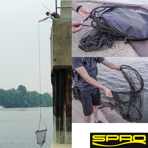 SPRO Freestyle Dropnet XTRA 2.0 80cm
