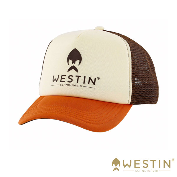 Westin Texas Trucker Cap #Beige/Orange/Brown