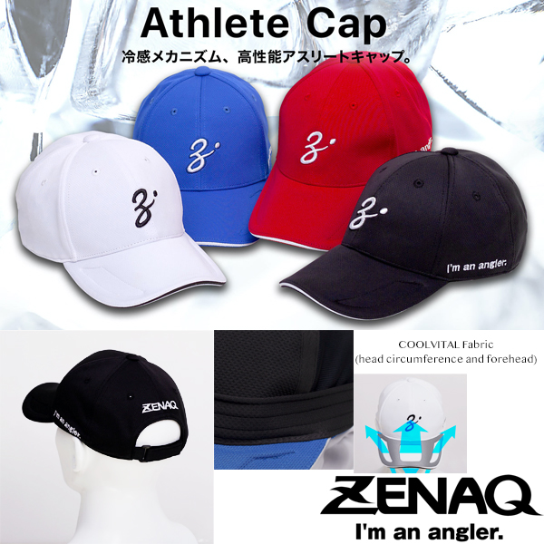 Zenaq Athlete Cap Black