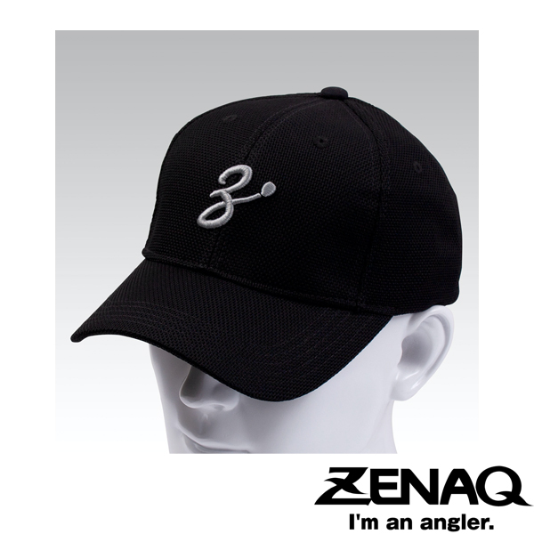 Zenaq Coolmax Meshcap #Black