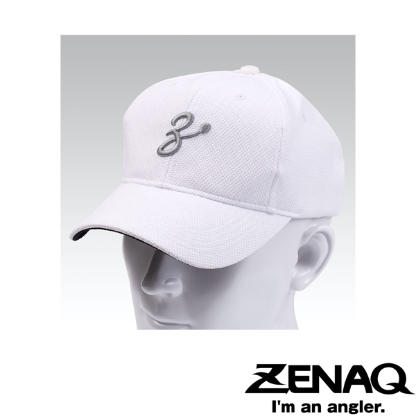 Zenaq Coolmax Meshcap #White