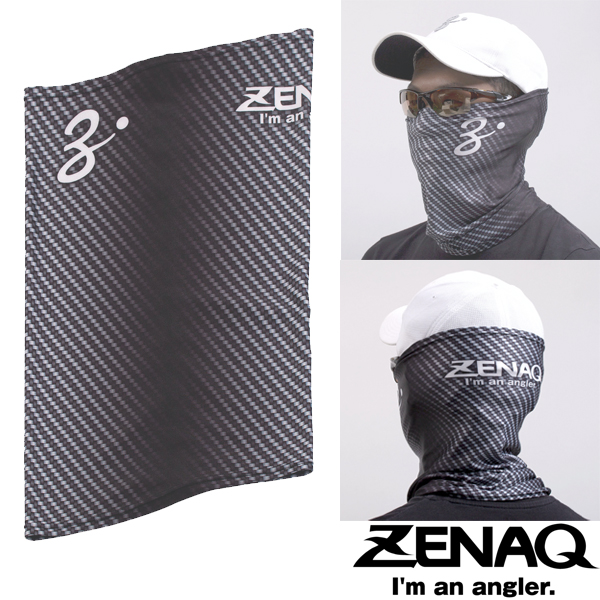 Zenaq Face & Neck Guard #Carbon Pattern