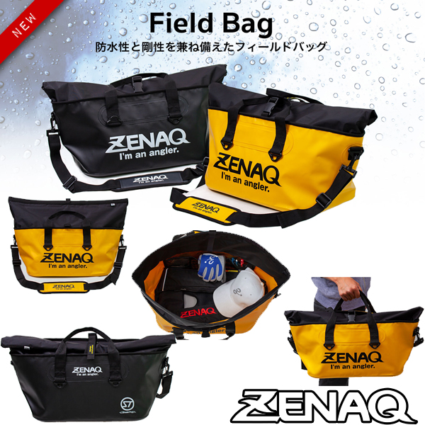 Zenaq Field Bag Black