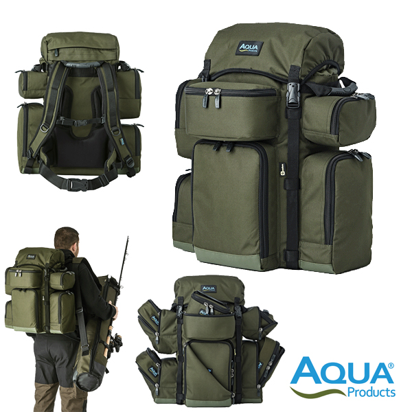 Aqua Small Rucksack Black Series