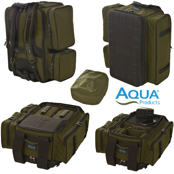 Aqua Roving Deluxe Rucksack Black Series