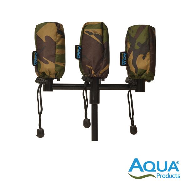 Aqua Camo Alarm Pouch (Pack of 3)