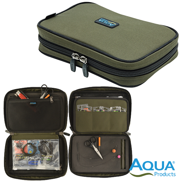 Aqua Roving Rig Wallet Black Series