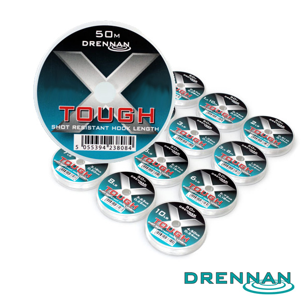 Drennan X-Tough Hooklink 10lb 0,24mm