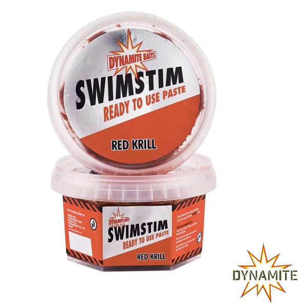 Dynamite Baits Swim Stim Ready Paste Red Krill 350g