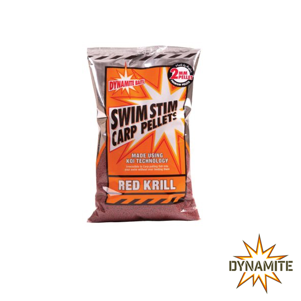 Dynamite Baits Swim Stim Red Krill 2mm 900g