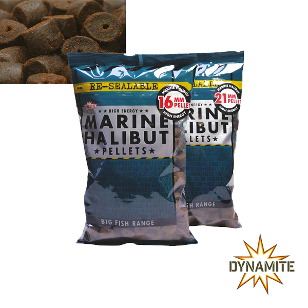 Dynamite Baits Marine Halibut Pellets 16mm 900g