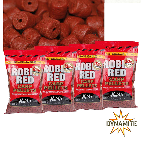 Robin Red Carp Pellets 8mm 900g