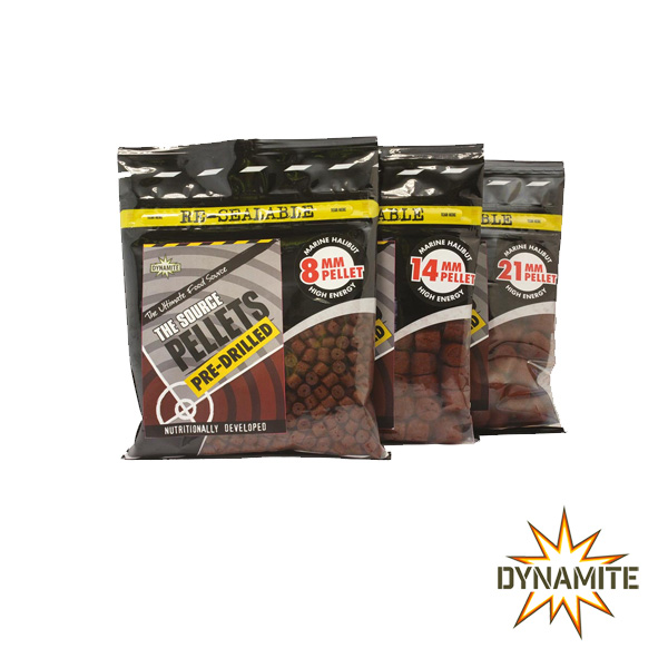 Source Pellets Pre-Drilled 21mm 350g