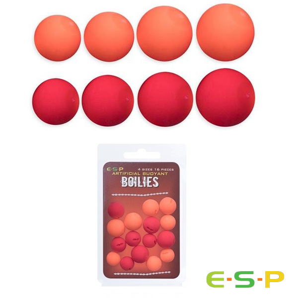 ESP Aritficial Buoyant Boilies #Red/Orange