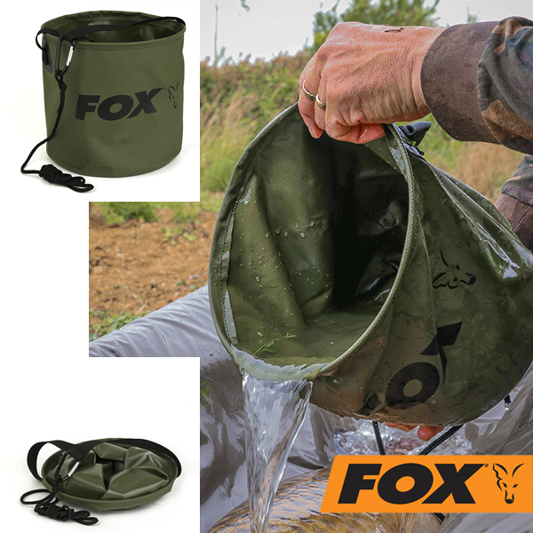Fox Collapsible Water Bucket L 10 Liter