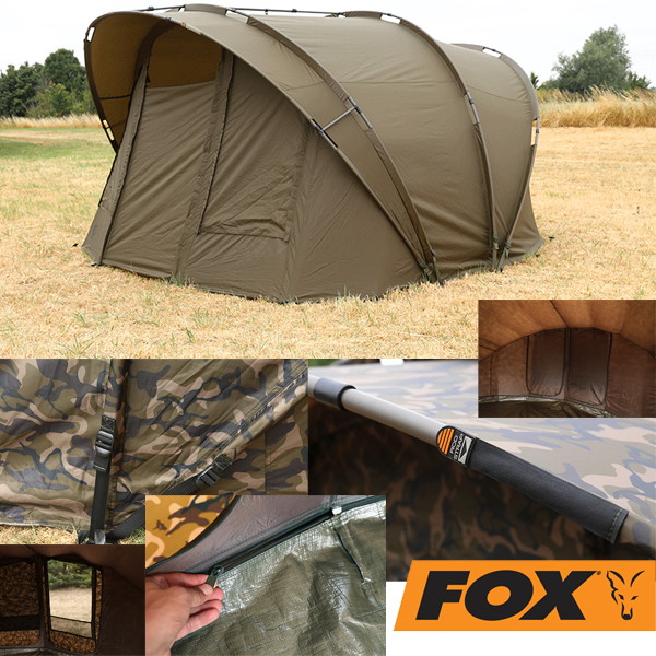 Fox R-Series 2Man XL Khaki inkl. Inner Dome