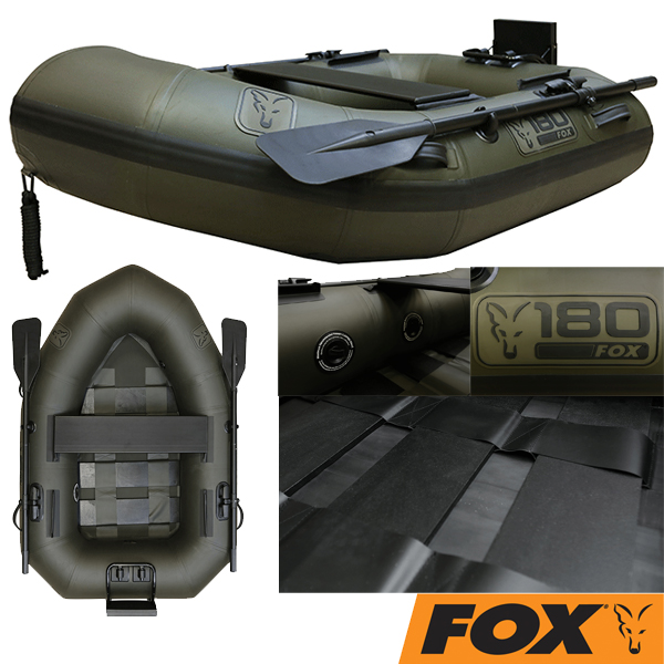 Fox 180 Green Inflatable Boat 1,80mt.