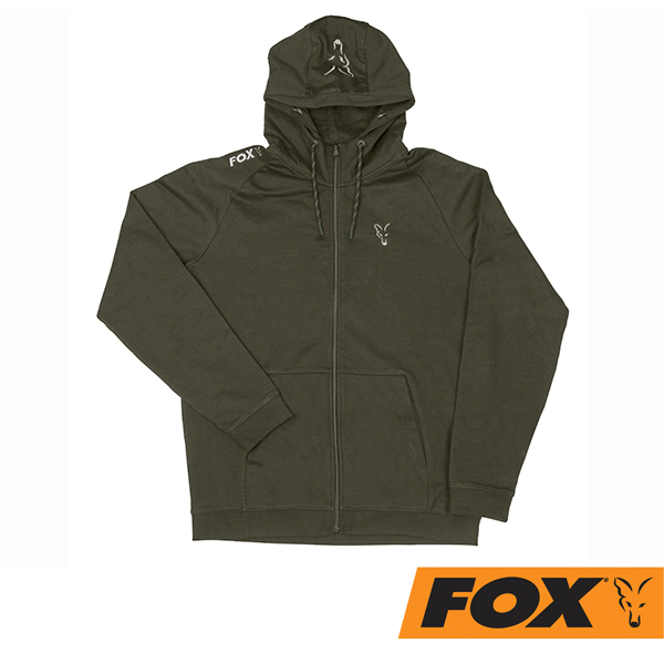 Fox Hoody Green/Silver S