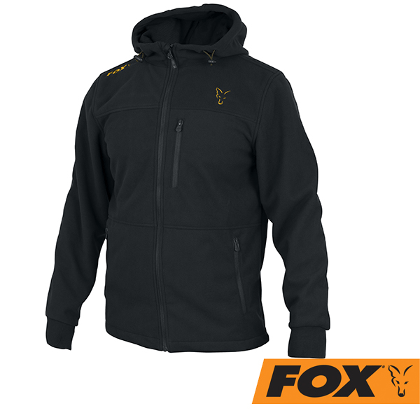 Fox Collection Wind Blocker #Black/Orange  S