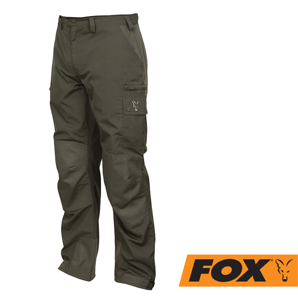 Fox Collection HD Trousers #Green/Silver S