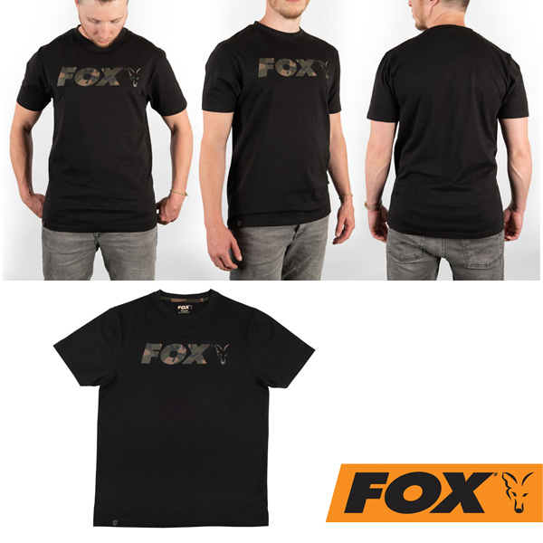Fox Black Camo Shirt #M