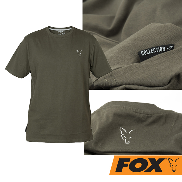 Fox T-Shirt Green/Silver S