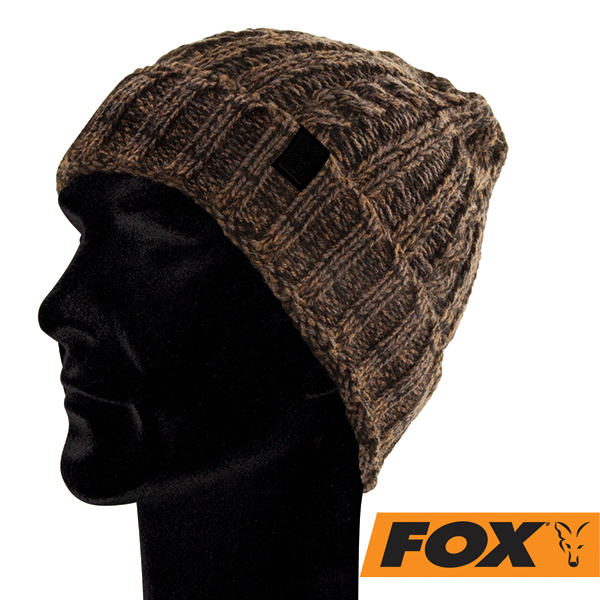 Fox Knit Beanie Camo/Black