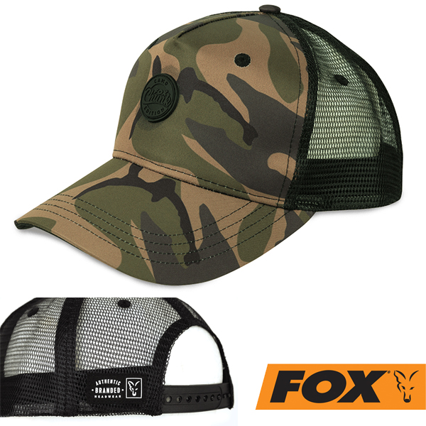 Fox Chunk Camo Trucker