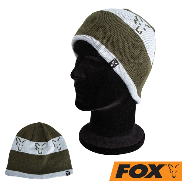 Fox Collection Beanie Green/Silver