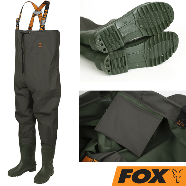 Fox Lightweight Chest Waders Green #41