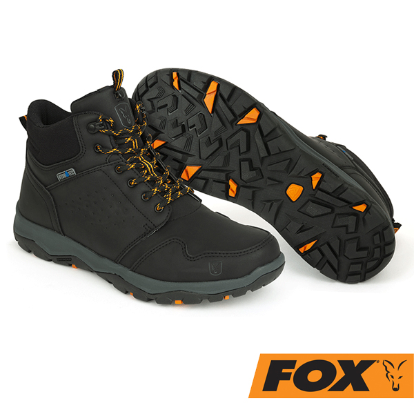 Fox Collection Mid Boots # Black/Orange 45
