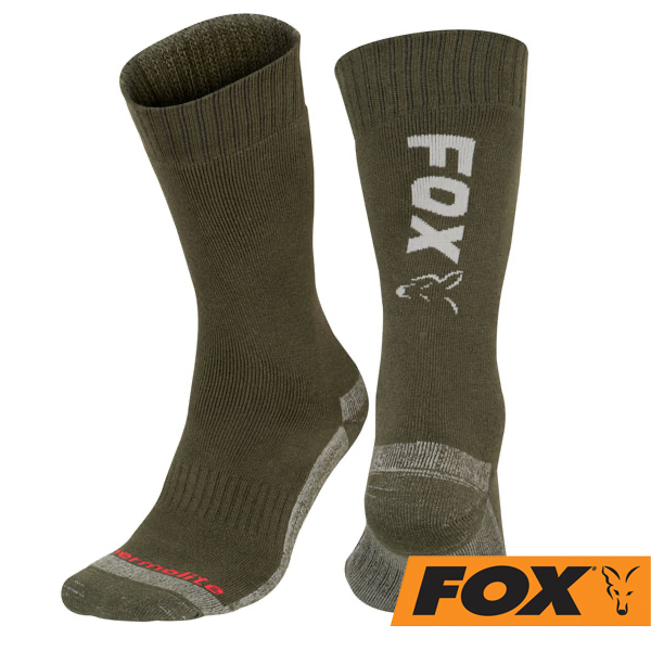 Fox Thermo Socks Green/Silver 40-43