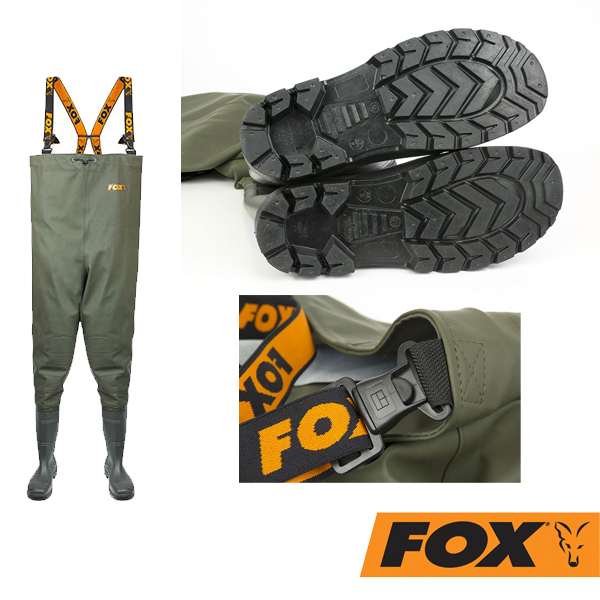 Fox Chest Waders Size 8