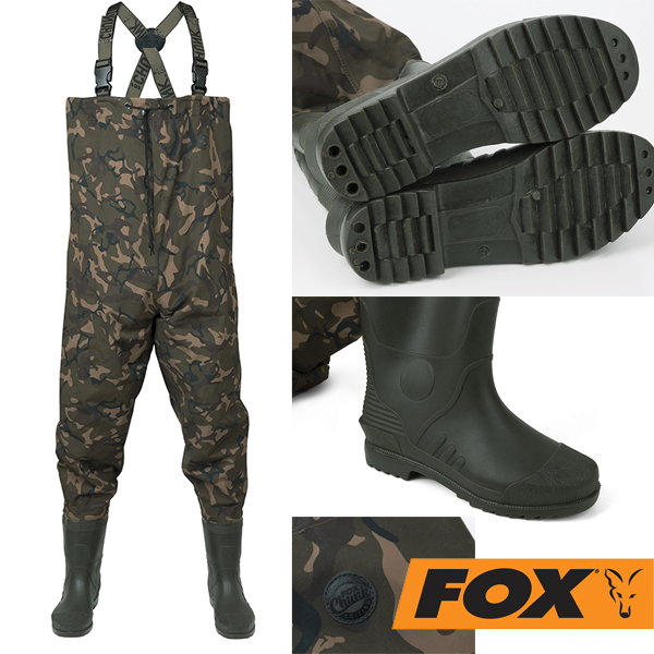 Fox Chunk Camo Waders 42