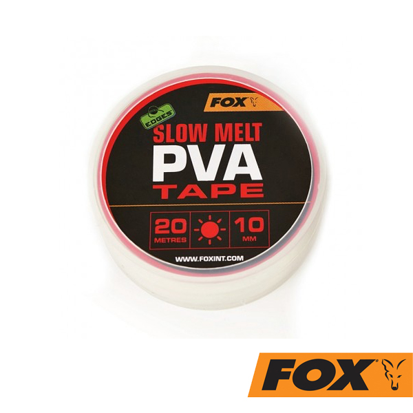 Fox Edges Slow Melt PVA Tape 10mm 20m