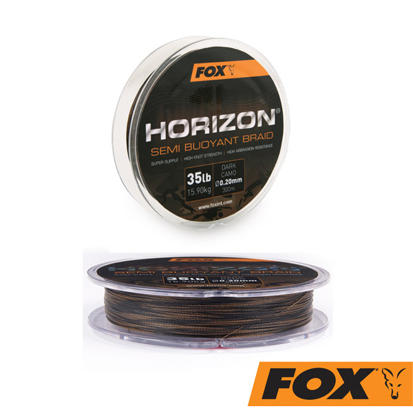 Fox Horizon Dark Camo Braid  15,90kg 0,20mm