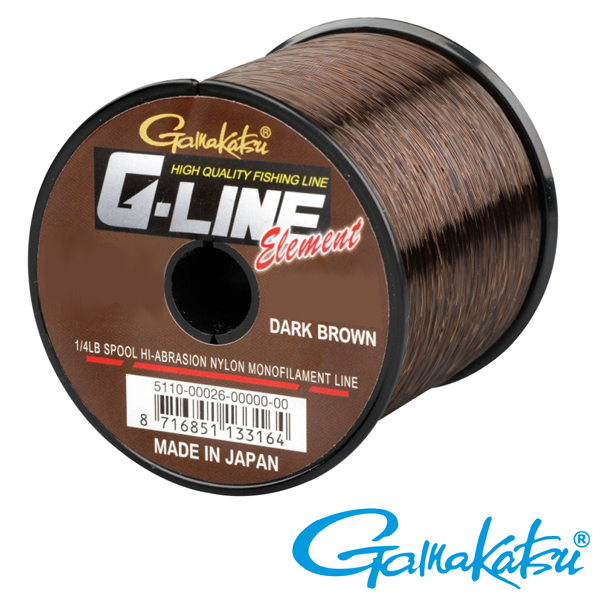 Gamakatsu G-Line Dark Brown 0,24mm 2270m