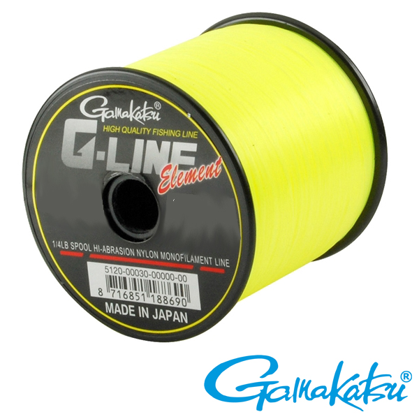 Gamakatsu G-Line Fluo-Yellow 0,26mm 1820m