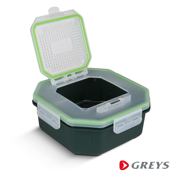 Greys Klip-Lok Box Flip Top Perforated 2L