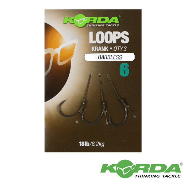 Korda Loop Rigs #4 Krank Barbless