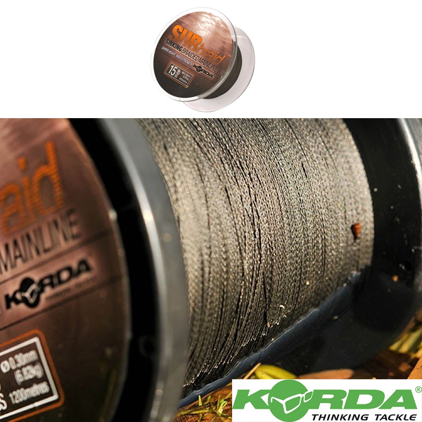 Korda Sub Braid 450mt. 15lb 0,30mm 6,82kg