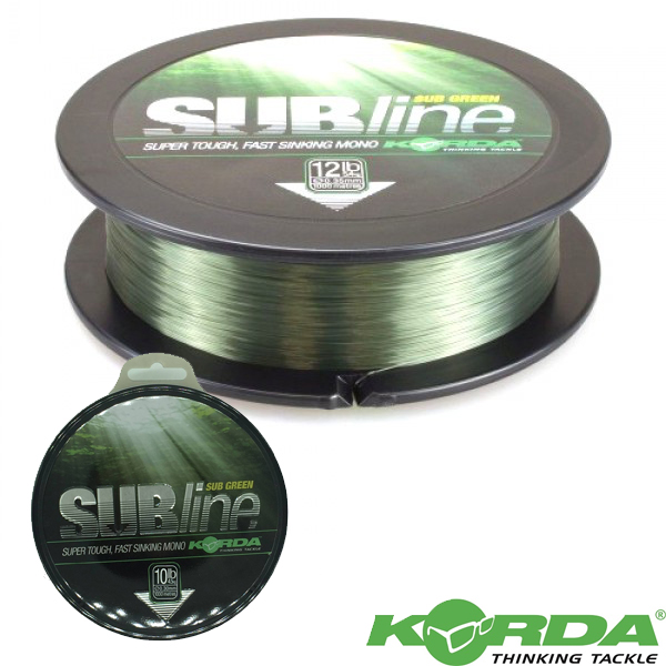 Korda Subline Ultra Tough 1000m Green 10lb
