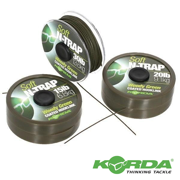 Korda N-Trap Soft 20lb #Weedy Green